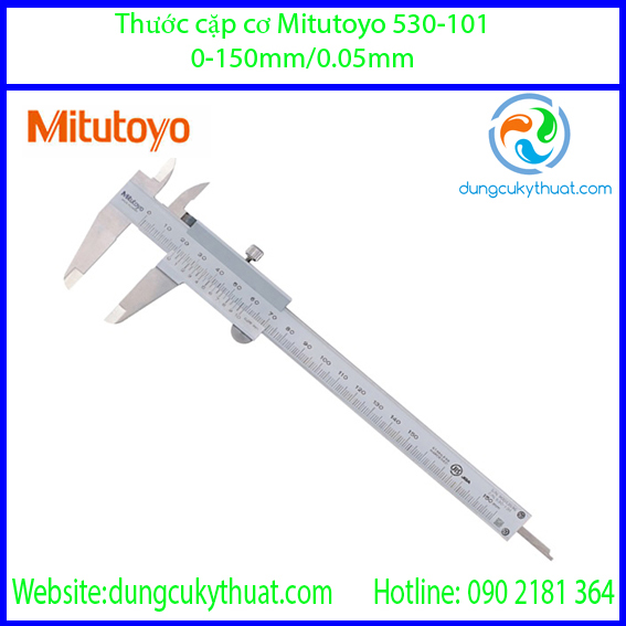 Thước cặp cơ khí  Mitutoyo 530-101/ 0-150mm x 0.05