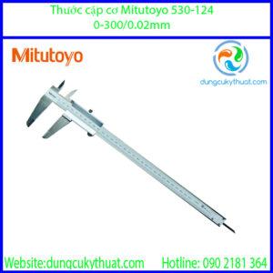 Thước cặp cơ khí  Mitutoyo 530-124/ 0-300mm