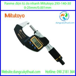 Panme điện tử đo nhanh Mitutoyo 293-140-30/0-25mm(0.001mm)