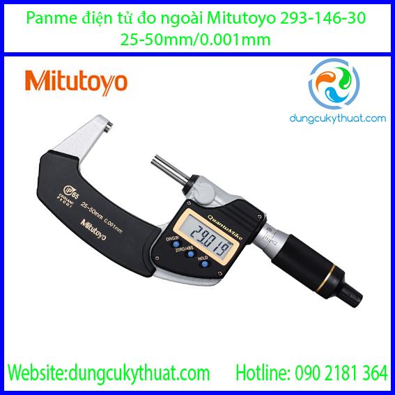 Panme điện tử đo ngoài Mitutoyo 293-146-30/25-50mm/0.001mm