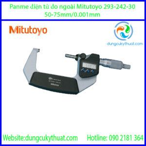 Panme điện tử đo ngoài Mitutoyo 293-242-30/50-75mm