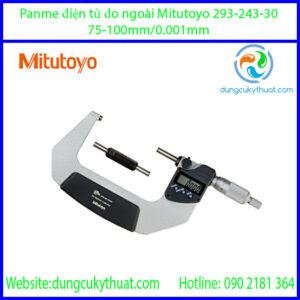 Panme điện tử đo ngoài Mitutoyo 293-243-30/75-100mm