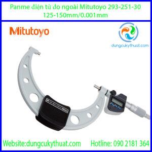 Panme điện tử đo ngoài Mitutoyo 293-251-30/125-150mm (IP65)