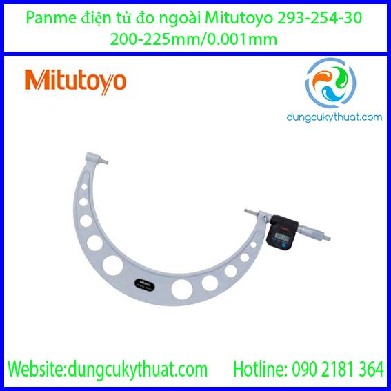 Panme điện tử đo ngoài Mitutoyo 293-254-30/200-225mm (IP65)
