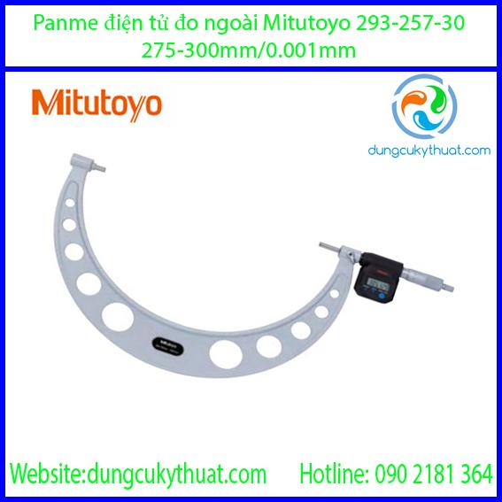 Panme điện tử đo ngoài Mitutoyo 293-257-30/275-300mm (IP65)
