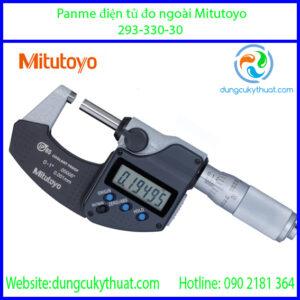 """Panme điện tử đo ngoài Mitutoyo 293-330-30/0-1""""/0-25mm x 0.001mm (SPC)"""