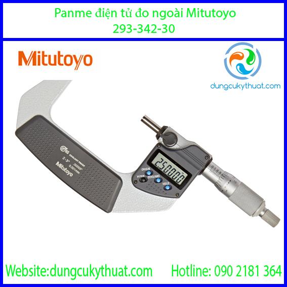 """Panme điện tử đo ngoài Mitutoyo 293-342-30/2-3""""/50-75mm x 0.001"""