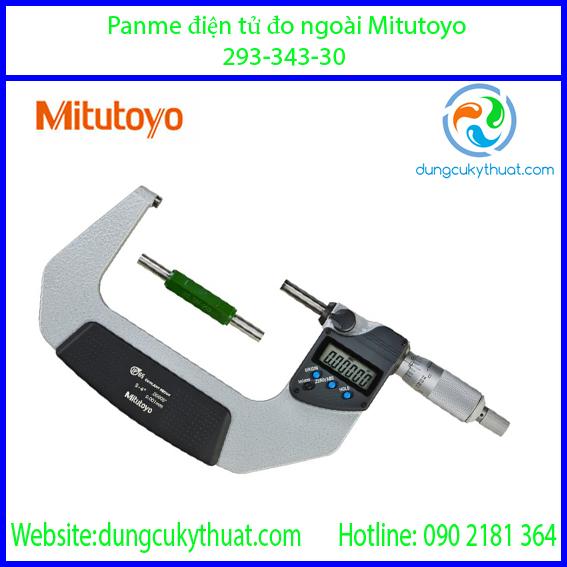 """Panme điện tử đo ngoài Mitutoyo 293-343-30/3-4""""/75-100mm x 0.001"""