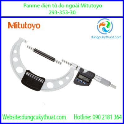 """Thước micrometer đo ngòai 293-353-30/7-8""""/175-200mmx0.001mm (SPC)"""